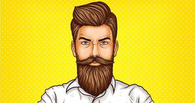 Перхоть на бороде