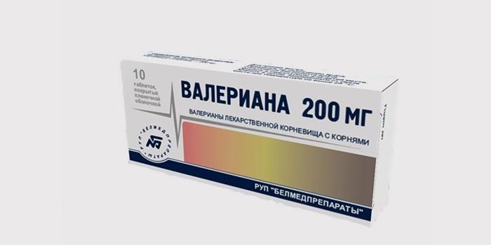 Валериана таблетки