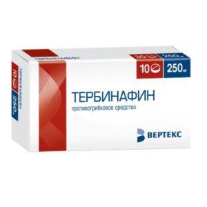 Тербинафин таблетки
