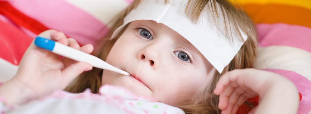 Сколько держится температура у ребенка пр стоматите