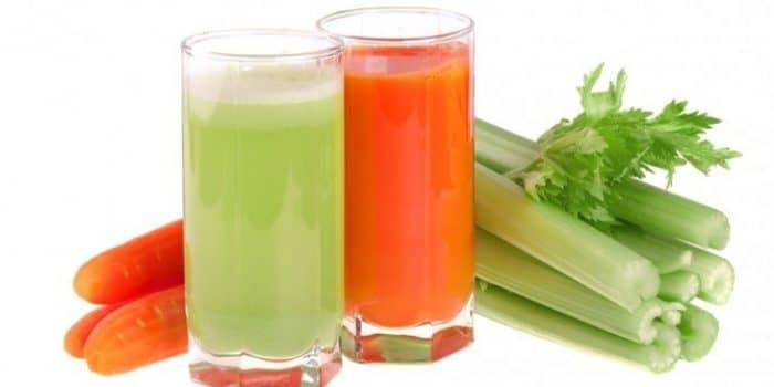 Овощные соки при стоматите